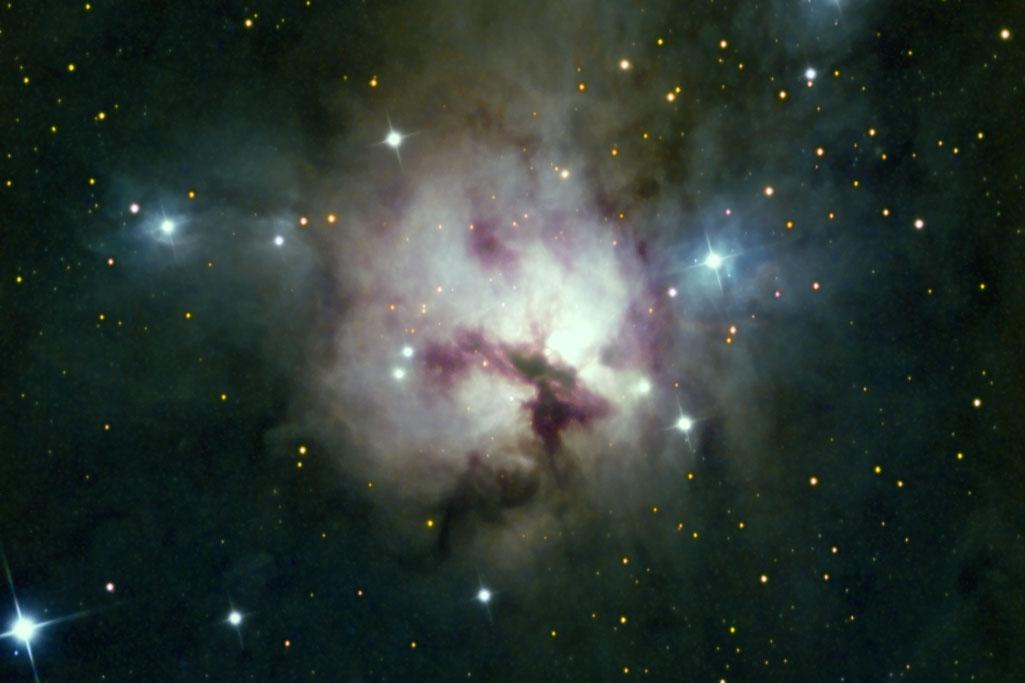 20201112-20201218 NGC1579 Nébuleuse Trifide du nord